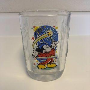 Walt Disney World Mickey Mouse McDonalds Glass